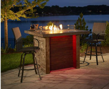 Outdoor GreatRoom Company MARQUEE  Pub Height Marquee Fire Island