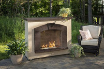 Outdoor GreatRoom Company SAFP-1224 Stone Arch Gas Fireplace