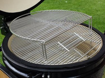 """Saffire 162-SGES19-SCG Stainless Steel Secondary Cooking Grid For 19"""" Grills"""