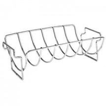 Saffire 162-RRNS Stainless Steel Rib & Roast Rack
