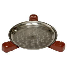 "Saffire 162-SGUS23-KBI  Black Or Red Ceramic Feet & Plate For 23"" Grill For Wood Built In & Table Installations"