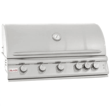 Blaze LTE BLZ-5LTE 40-Inch 5-Burner Built-In Propane Or Natural Gas Grill With Rear Infrared Burner & Grill Lights