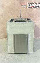 """28"""" Mod Single Door & Sink"""