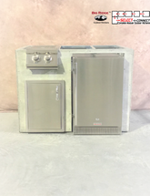 R-48RSDBBL RTF SNC Refrigerator, Single Door & Side Burner