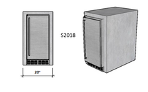 "Ready To Finish SNC 20"" Standard Module With 15"" Refrigerator"