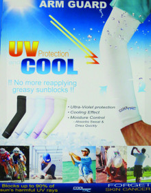 """Cool Tac"" Sun Sleeve Arm Guards"