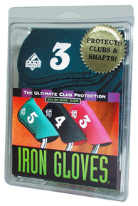 """Iron Glove"" Club Covers...Set of 9 Covers #3-S/W"