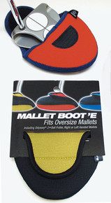 "Mallet ""Boot'E"" Putter Cover by Stealth Club Covers"