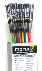 """morodZ"" Golf Alignment Rods"