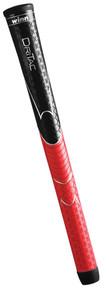 """""""Winn"""" Dri-Tac Standard Size Golf Grip...Black/Red #5DT-BRD"""