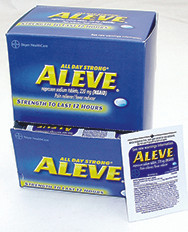 """Aleve"" Box of 30- 1 Tablet Packs"