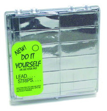 Lead Strips,  Box of 180 (30 Sheets of 6 strips)