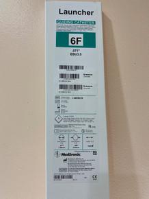 LA6EBU35 Medtronic Launcher Coronary Guide Catheter 6F, EBU3.5