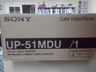 UP-51MD, Sony, UP-51MDU, Color,  Medical, Printer