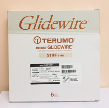 "Terumo GS3504 GLIDEWIRE® Hydrophilic Coated Guidewire, Stiff Shaft , 0.035"" x 260cm, Tip 3 cm, Tip Shape Straight. Box of 05"