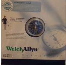 DS45-11 Welch Allyn DuraShock Integrated Aneroid Sphygmomanometer Adult Cuff Size