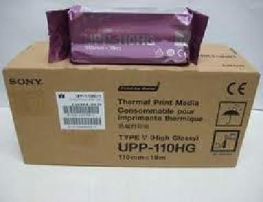 Sony UPP-110HG High Glossy Black & White Media  26-UPP110HG Sony UPP-110HG High-Glossy Black & White Media E8310LC E20022DJ  Ultrasound Image Papers