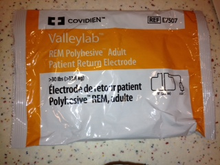 Medtronic  MFID: E7507. E7507, Valleylab, Patient, Return, Electrodes, COVE7507, Covidien, 7507A, 194823, 1942181
