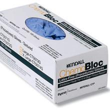 Covidien CT5072G Chemobloc Non-Sterile Nitrile Gloves 8mil, Medium, Case of 400e/a.