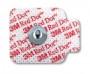 3M 2660-3EKG Snap Electrode 3M™ Red Dot™ Monitoring Radiolucent 3 per Bag.  Case/200