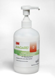 3M 9222 Avagard™ D Instant Hand Antiseptic With Moisturizers. Case of 12