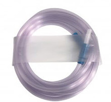 """4687 Suction Tubing with straw connector, Sterile, 1/4"""" x 10'. Case of 50"""