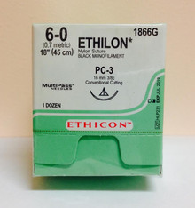 1866G, ETHILON, Suture, Precision Cosmetic