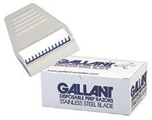 D-845 Gallant Safety Prep Razor, box of 50