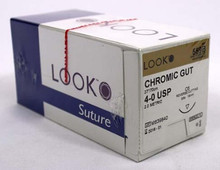 559B Suture 4-0 Chromic Gut C-6, Box of 12
