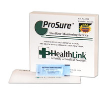 3910 Healthlink ProSure Mailers, Third party verification for steam, dry heat or E/O steril, case of 12