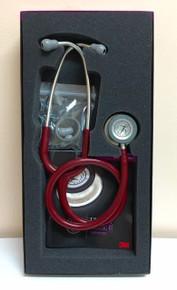 """5627 3M Littmann Classic III Stethoscope, Burgundy Tube, 27"""""""