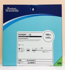 50-910 Fathom 16 Steerable Guidewires 180cm x 10cm,  0.016 Straight, Box of 1
