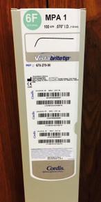 67027000 6Fr MPA1 100cm  Vista Britetip Guidecatheter