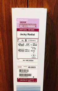 Terumo RH* 5BL3520A Radifocus ® Optitorque ® - Angiographic Catheter Jacky Radial 5Fr. Box of 5