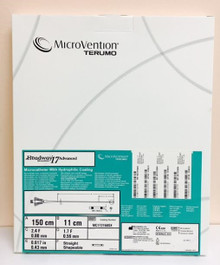 Microvention MC172150SX Headway ® Microcatheter with Hydrophilic Coating Straight  0.017in x 150cm  2.4 / 1.7 Fr.