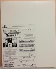 "GN1000 SNARE 10mm loop diameter, .038"" shaft.  AMPLATZ GOOSE NECK N 10MM 120CM KIT INCLUDES: 1-10mm snare RD1000, 1-4.0Fr Snare Catheter (MC4000)."