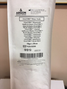 762618300 UltraCore™ Biopsy Needles 18G x 30 cm. Box of 10