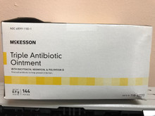 118-42213 First Aid Antibiotic McKesson 0.9 Gram Ointment Individual Packet. Case of  1728