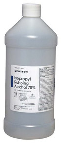 23-D0024 Isopropyl Alcohol McKesson 32 oz. Liquid Bottle. Price of 12