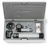 HEINE  C-265.27.376 HSL 150 Hand-held Slit Lamp Set: BETA R Handle (Li-Ion) and hard case