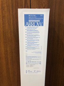 ARROW CL-07865 Super Arrow-Flex sheath with integral side port/ hemostasis valve And Radiopaque Tip MArker Band 8Fr. x 65cm. Box of 5