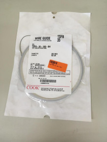 TSFB-35-180-BH-EXP COOK WIRE GUIDE WITH AMPLATZ HEPARIN COATING TSFB 35