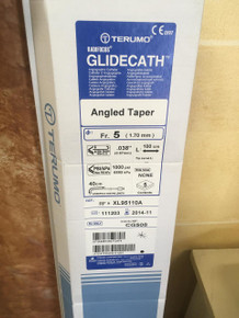CG508-EXP TERUMO RADIFOCUS GLIDECATH Angled Taper Fr.5  (1.70mm)