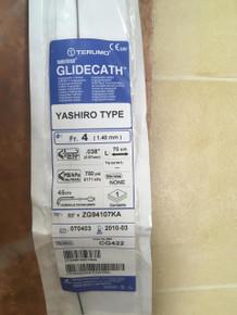 CG422-EXP Terumo  Radiofocus Glidecath Yashiro Type  Fr.4