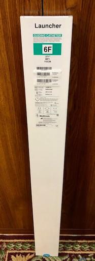 "Medtronic LA6MP1A  Launcher  Coronary Guide Catheter MP1, 0.071"" x 110cm"