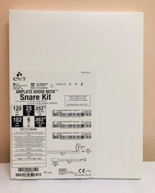 "GN2500 SNARE 25mm loop diameter, .038"" shaft.  AMPLATZ GOOSE NECK 25MM 120CM KIT INCLUDES: 1-25mm snare , 1-6.0Fr Snare Catheter."