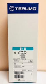 "Terumo RSS803 PINNACLE Introducer Sheath Peripheral Applications 8Fr., 10cm x 0.035"". Box of 5"