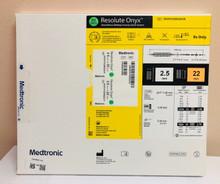Medtronic RONYX25022UX Resolute Onyx™ Drug-Eluting Stent 2.5mm x 22mm