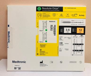 RONYX35012UX Resolute Onyx Drug-Eluting Stent 3.5mm x 12mm