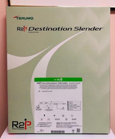 GS-R6ST1C15W 149cm, 6Fr, Straight R2P  DESTINATION SLENDER  Guiding Sheath (1 per box)
